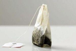 Làm đẹp đơn giản chỉ bằng cách dùng túi lọc trà