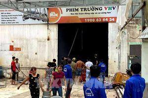 Tp. Hồ Chí Minh: Hỏa hoạn tại phim trường ở Quận 12