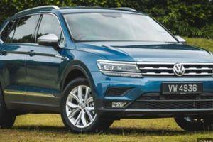 Volkswagen Tiguan Allspace Highline 2021: Thêm trang bị, giá không đổi