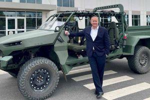 GM Defense tiết lộ xe trinh sát bộ binh chạy bằng điện