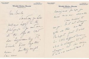 Hé lộ bức thư cố Tổng thống John F. Kennedy gửi người tình