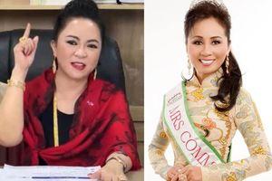 'Hoa hậu google tìm không ra tên' chỉ trích bà Phương Hằng dữ dội, lên tiếng bảo vệ Hoài Linh