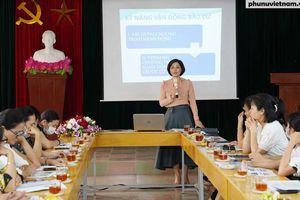 Hội LHPN TP Hải Phòng: 'Tiếp sức' để nữ ứng cử viên tự tin hơn trong các buổi tiếp xúc cử tri