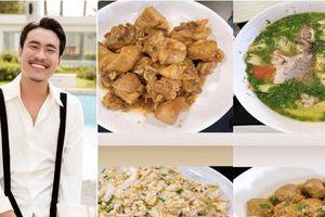 Bạn trai kém 18 tuổi của Cát Phượng vào bếp đãi toàn món dân dã ngon 'nhức nách'