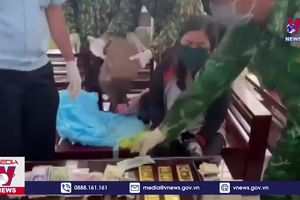 An Giang bắt một phụ nữ vận chuyển vàng từ Campuchia về Việt Nam
