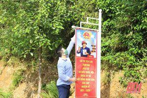Huyện Ngọc Lặc gấp rút hoàn thành công tác chuẩn bị bầu cử