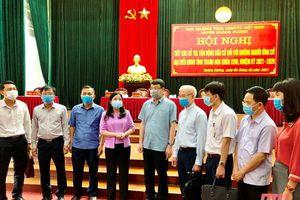 Ứng cử viên đại biểu HĐND tỉnh tiếp xúc cử tri, vận động bầu cử tại huyện Quảng Xương