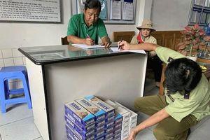 Phạt 3 triệu đồng với hành vi mua thuốc lá nhập lậu