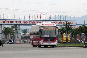 Đà Nẵng tạm dừng hoạt động vận tải khách đến Huế