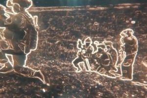 Cảnh tượng như phim viễn tưởng khi nhìn qua kính xuyên đêm của quân đội Mỹ