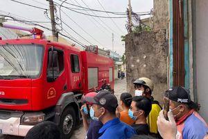 Cháy một phim trường vùng ven thành phố Hồ Chí Minh