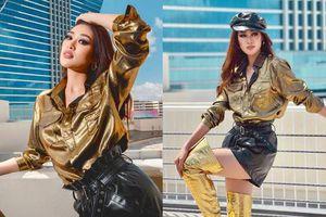 Vì sao Khánh Vân khiến fan 'ngả mũ thán phục' trong ngày đầu nhập cuộc Miss Universe?