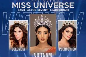Khánh Vân vừa bật top 21 đã được dự đoán đăng quang Hoa hậu hoàn vũ