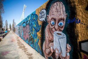 Nghệ thuật đường phố thời COVID-19