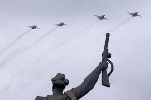 Hình ảnh ấn tượng tại lễ duyệt binh Ngày Chiến thắng ở Moscow