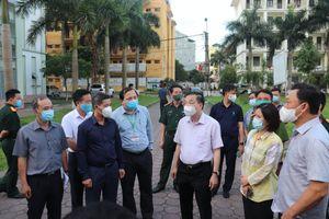Chủ tịch UBND TP Hà Nội Chu Ngọc Anh: 'Gia Lâm cần nâng mức độ phòng chống dịch Covid-19 cao hơn'