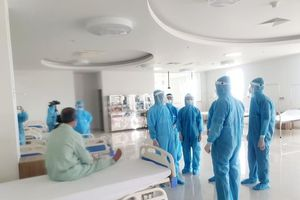 BV Bạch Mai cơ sở 2 tiếp nhận bệnh nhân từ BV Bệnh Nhiệt đới Trung ương