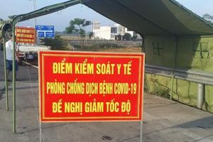 Quảng Nam lập 7 chốt kiểm soát dịch, người từ Đà Nẵng về phải cách ly