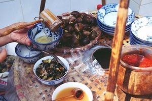 Độc đáo món bún ốc nguội bình dị của người Hà thành xưa