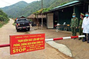 'Lá chắn thép' ngăn dịch Covid-19 ở vùng biên Thanh Hóa