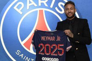 Neymar chính thức gắn bó tương lai với PSG