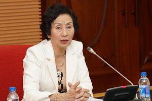 Bà Bùi Thị An: 'Có đồng chí tư lệnh ngành từng gợi ý tôi đừng chất vấn'