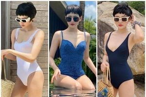 Học cách diện bikini một mảnh, đơn giản nhưng nóng bỏng của Hiền Hồ