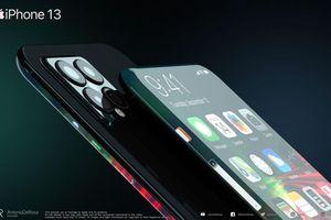 Mãn nhãn trước concept iPhone 13 màn hình thác nước tràn viền