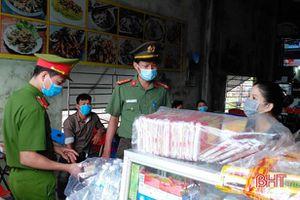 Giữ vững an ninh trật tự cho ngày bầu cử trên địa bàn Lộc Hà