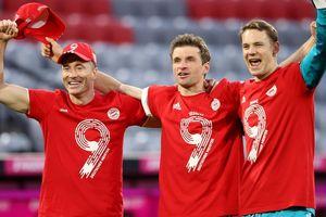Bayern thắng hủy diệt Gladbach 6-0 trong ngày vô địch Bundesliga