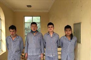 Tuyên Quang: Bắt giữ thêm 4 người Trung Quốc nhập cảnh trái phép
