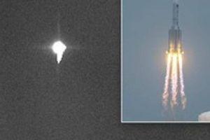 Tàn dư tên lửa Trung Quốc đã lao xuống Trái Đất với tốc độ 8km/s