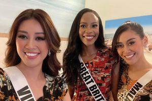 Khánh Vân diện lại hot-trend thun lạnh 120.000 đồng: Quyết tâm debut nhóm nhạc tại Miss Universe
