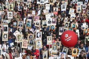 'Binh đoàn bất tử' diễu hành trực tuyến nhân 76 năm Chiến thắng tại Nga