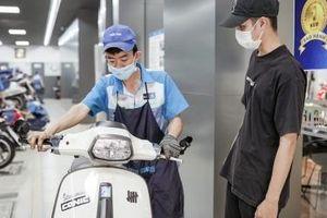 Piaggio tăng thời gian bảo hành xe máy lên 5 năm