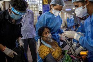 Ngày thứ hai liên tiếp Ấn Độ có trên 4.000 người chết vì dịch bệnh