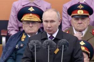 Ông Putin: 'Chúng tôi luôn nhớ người dân Liên Xô đã lập nên chiến công oai hùng'