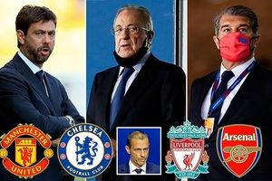Super League phản kích trừng phạt từ UEFA