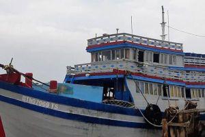 Cà Mau: Phát hiện 2 người nhập cảnh trái phép trên tàu cá
