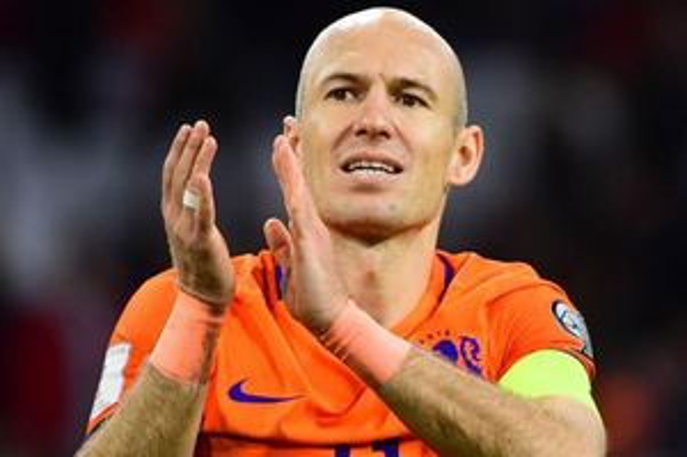 Robben sẵn sàng trở lại tuyển Hà Lan
