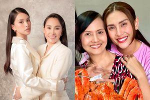 Tiểu Vy, Võ Hoàng Yến đăng ảnh chụp cùng mẹ