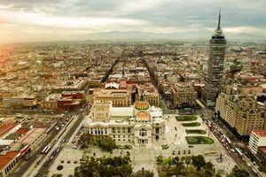 Nền đất thủ đô Mexico đang 'chìm' ở mức đáng báo động