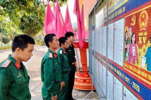 LLVT Quân khu 5 chuẩn bị chu đáo cho cuộc bầu cử