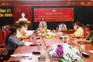 Đồng chí Trương Thị Mai tiếp xúc cử tri tại Hòa Bình
