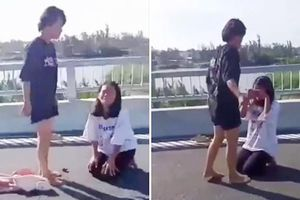Xác minh clip nữ sinh bị hành hung ở Quảng Nam