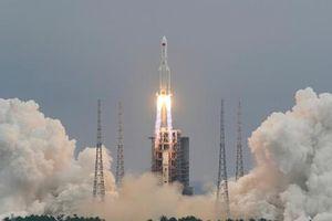Mảnh vỡ tên lửa Trung Quốc rơi xuống Ấn Độ Dương