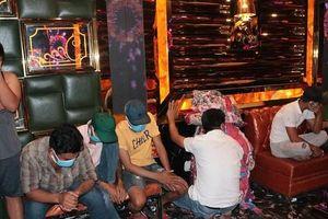 Nhiều đối tượng dương tính với ma túy tại quán karaoke