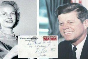 Thư tình được rao bán hé lộ thêm về cuộc sống trăng hoa của cố tổng thống Kennedy