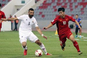 ĐT Việt Nam đá giao hữu với Jordan vào ngày 31/5