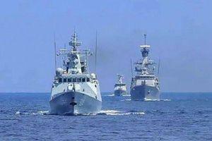 Trung Quốc, Indonesia tập trận hải quân chung